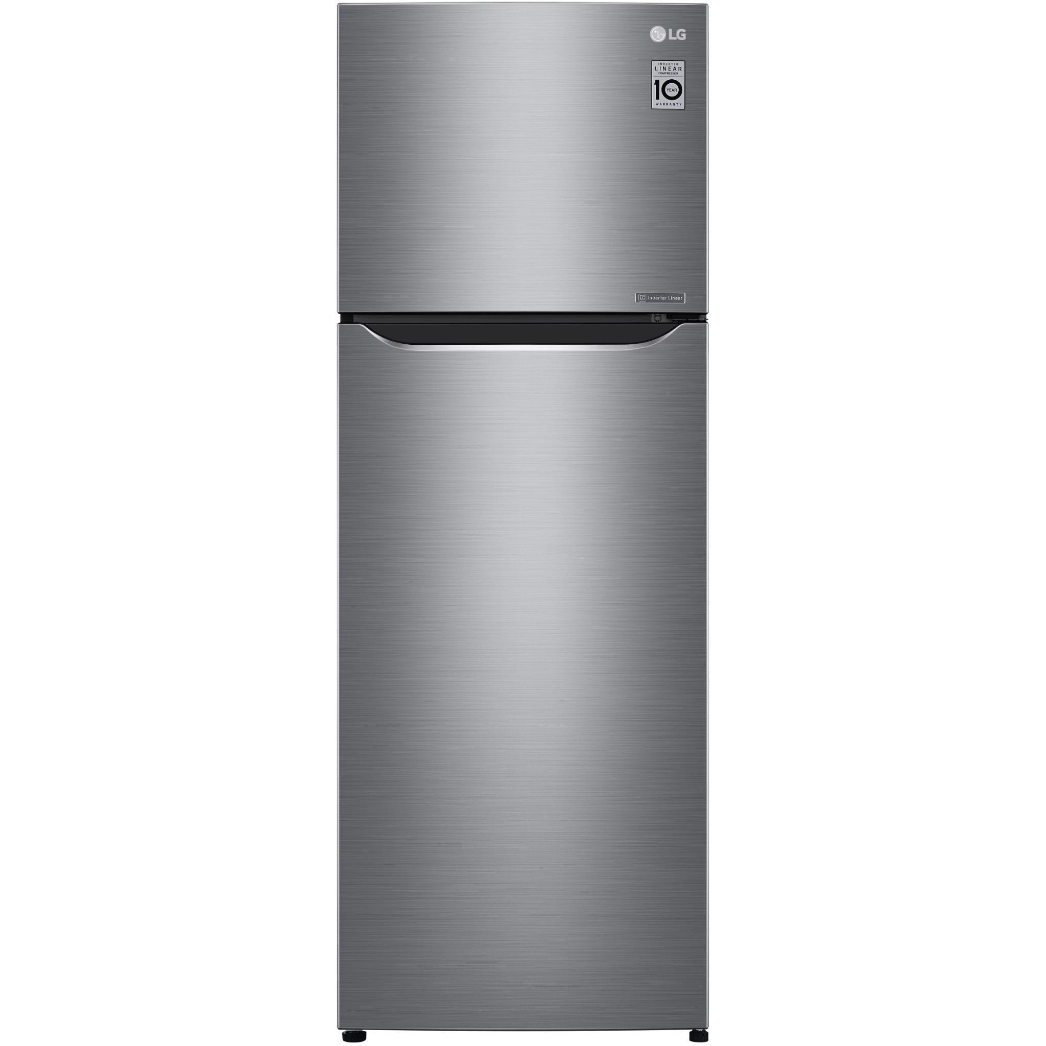 LG GT-332SCDC 332L Top Mount Fridge (S/Steel)