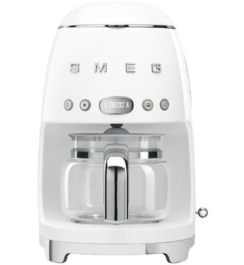 Smeg DCF02WHAU 50s Retro Style Drip Filter Coffee Machine
