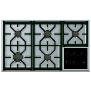 WOLF 91cm Transitional Natural Gas Cooktop ICBCG365T/S