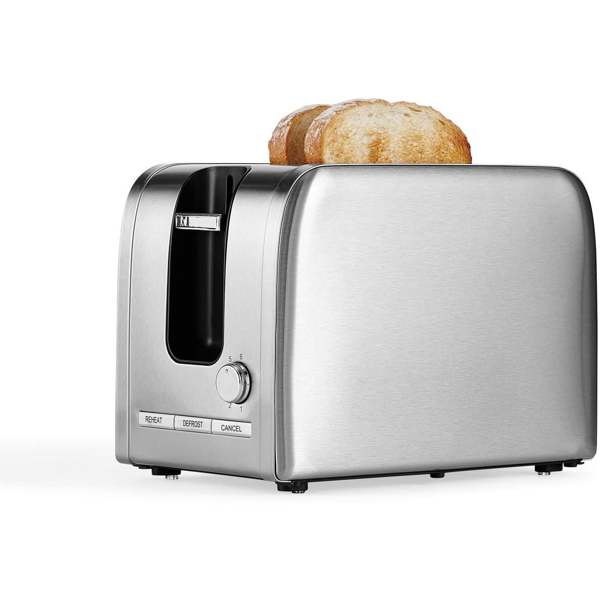 Contempo 2 Slice Stainless Steel Toaster – T386