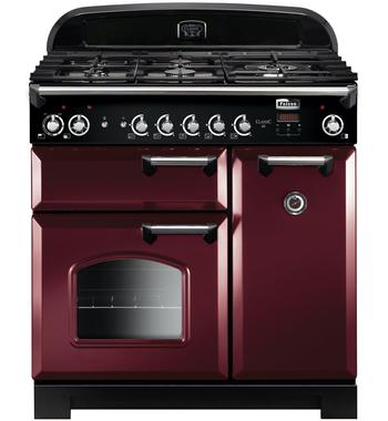 Falcon CLA90NGFCY-CH 90cm Freestanding Natural Gas Oven/Stove