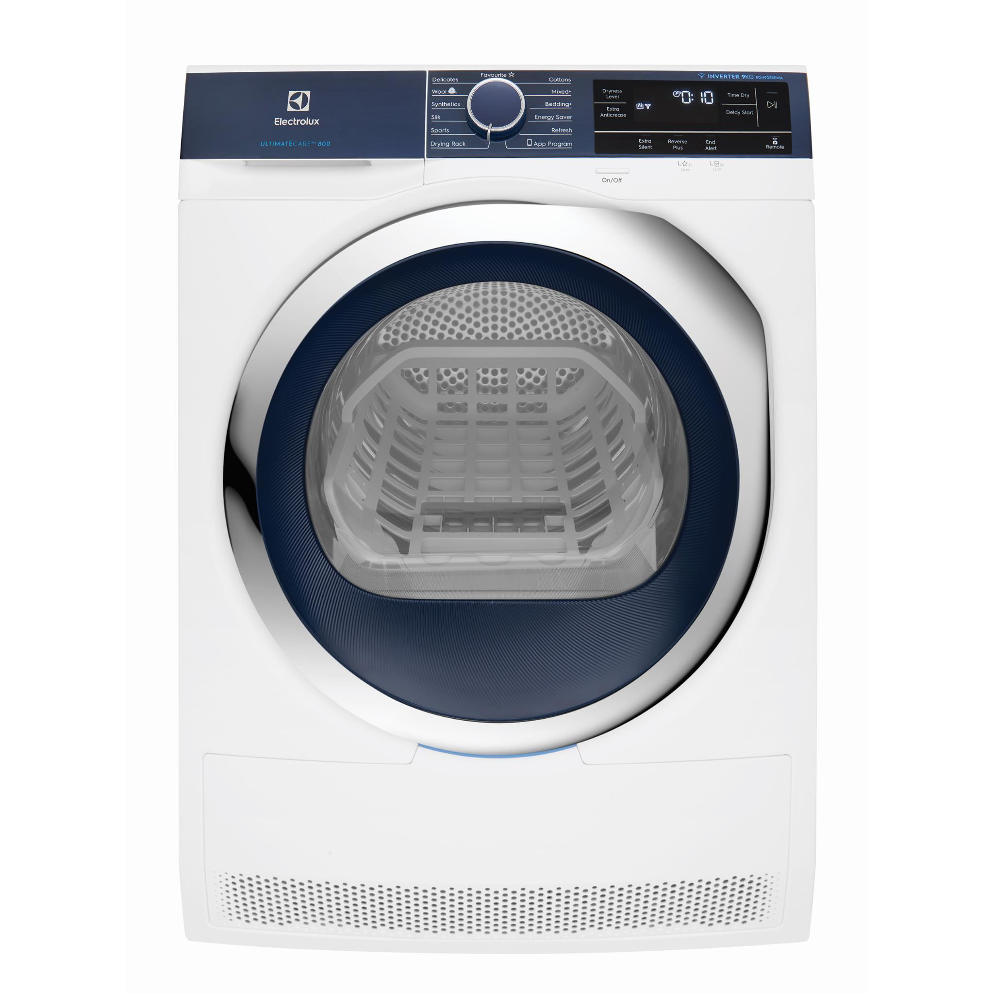 Electrolux EDH903BEWA 9kg Wi-Fi Enabled Ultimate Care Heat Pump Dryer