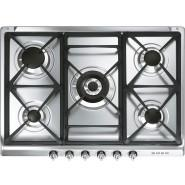 Smeg – SRA975XGH – 70cm Victoria Gas Cooktop – Stainless Steel