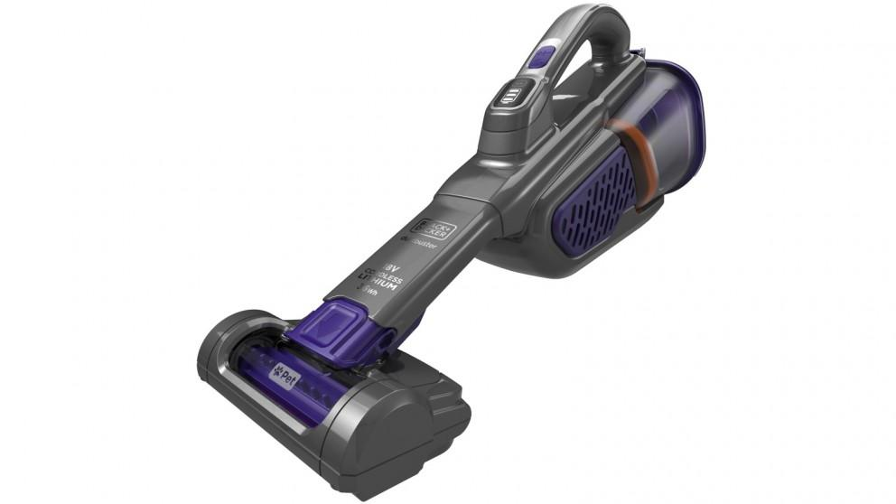 BLACK+DECKER 18V Lithium-Ion Pet Dustbuster Hand-held Vacuum