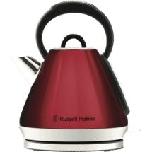 Russell Hobbs Heritage Vogue Kettle – Ruby Red