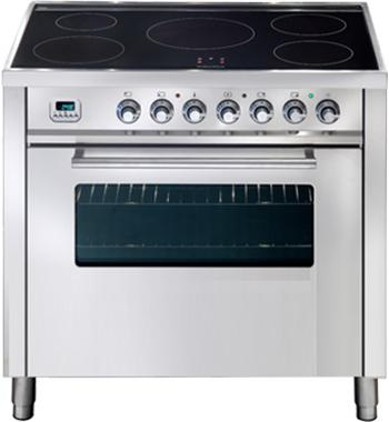 ILVE PWI90MPSS 90cm Freestanding Electric Oven/Stove
