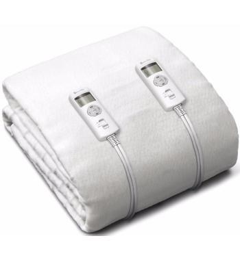 Breville Double Antibacterial Fitted Heated Blanket BZB427WHT