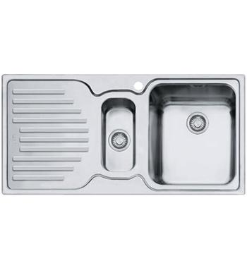 Franke PFX-P651LHD Pacific Plus 1 and 1/4 Bowl Left Hand Drainer Sink