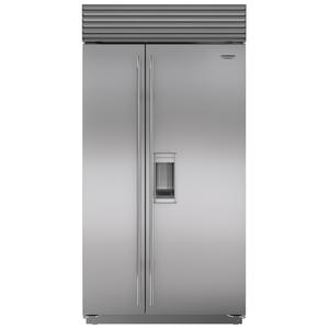 Sub-Zero 724L Integrated Side by Side Fridge with Dispenser ICBBI42SDSTH