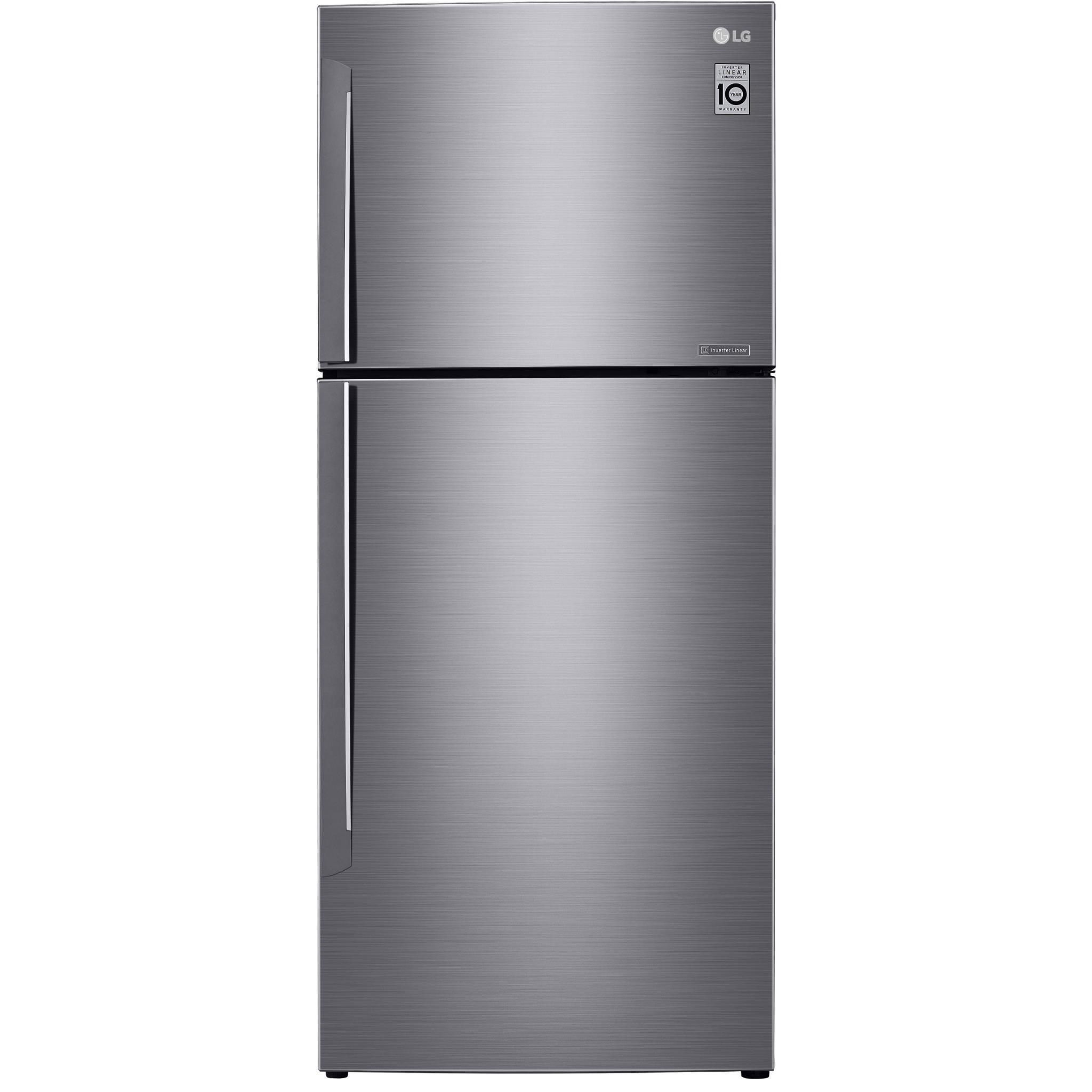 LG GT-442SDC 441L Top Mount Fridge (S/Steel)