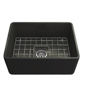 Turner Hastings NO60FS-MB Novi 60 Single Bowl Butler Sink