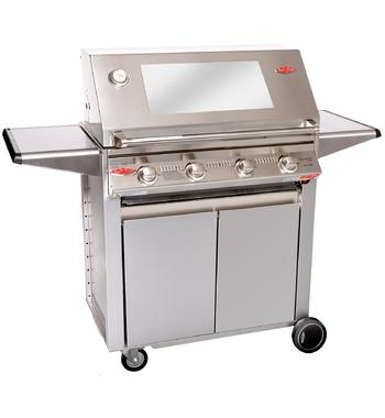 Beefeater BS19340 Signature 3000S 4 Burner Mobile LPG BBQ