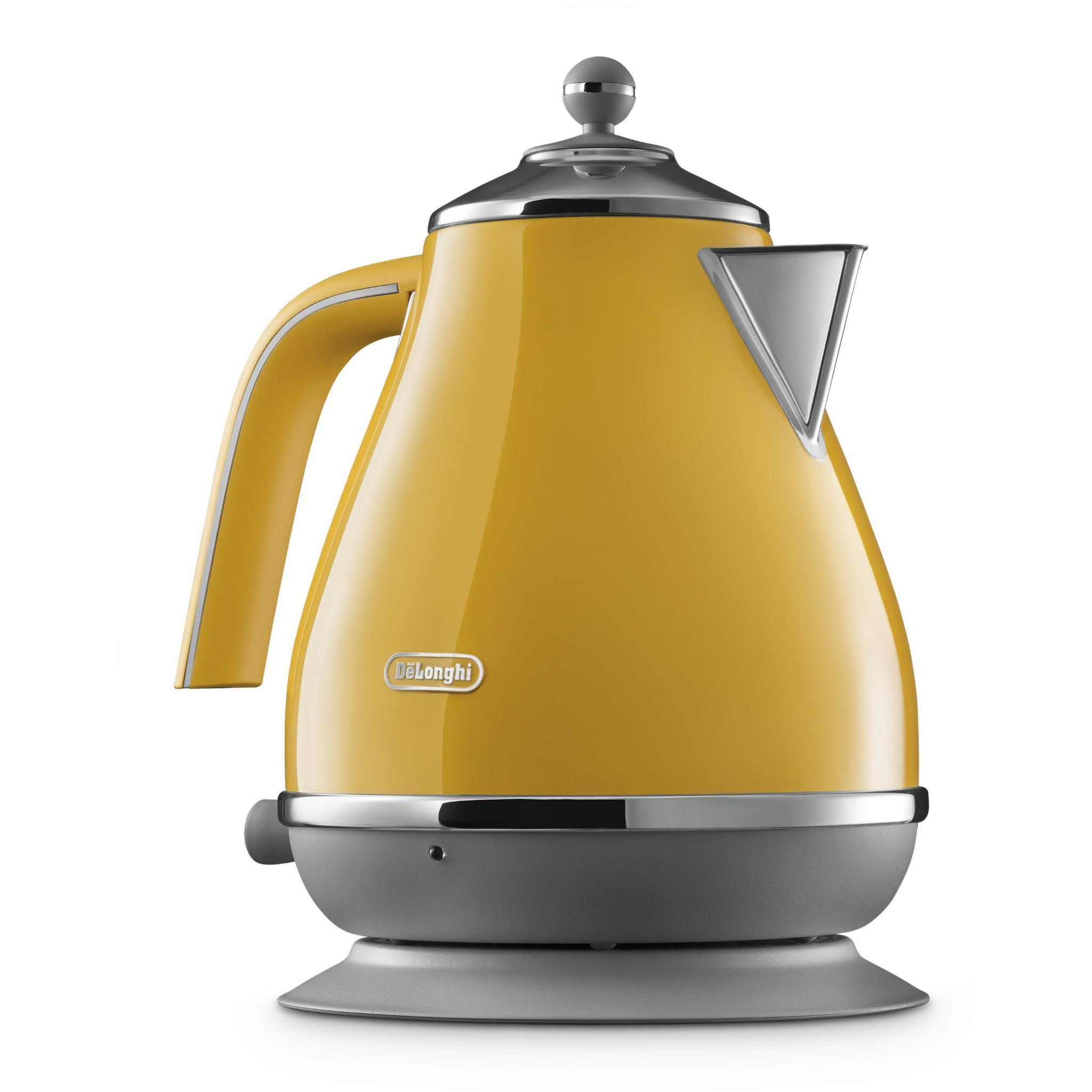 DeLonghi Icon Capitals Kettle (New York Yellow)