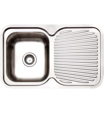 Arc IS8LS5 Single Bowl Right Hand Drainer Inset Sink