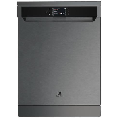 Electrolux ESF6768KXA 15 Place Setting Freestanding Dishwasher (Dark S/Steel)