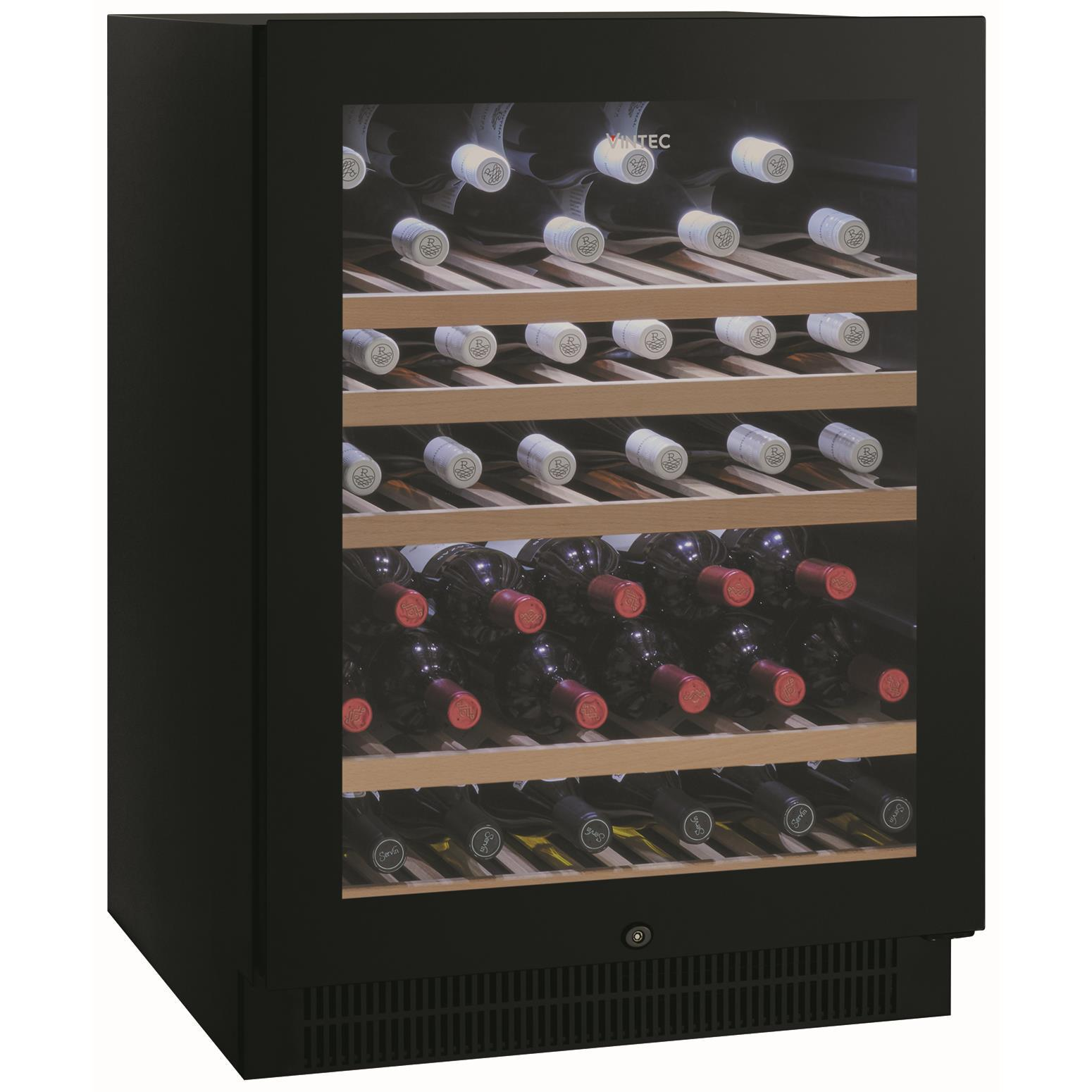 Vintec VWS050SBAX 50 Bottle Wine Cabinet