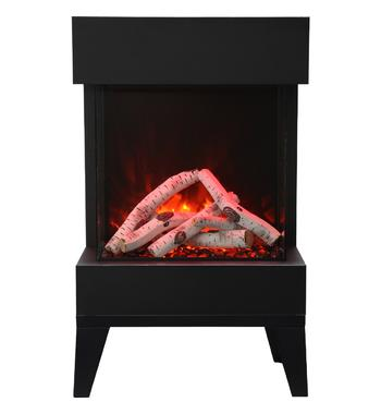 Amantii CUBE-2025LEGS The Cube Electric Fireplace