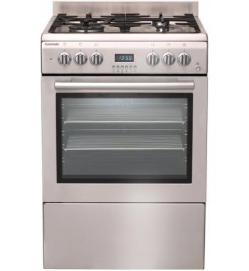 Euromaid GTEOS60 60cm Freestanding Dual Fuel Oven/Stove