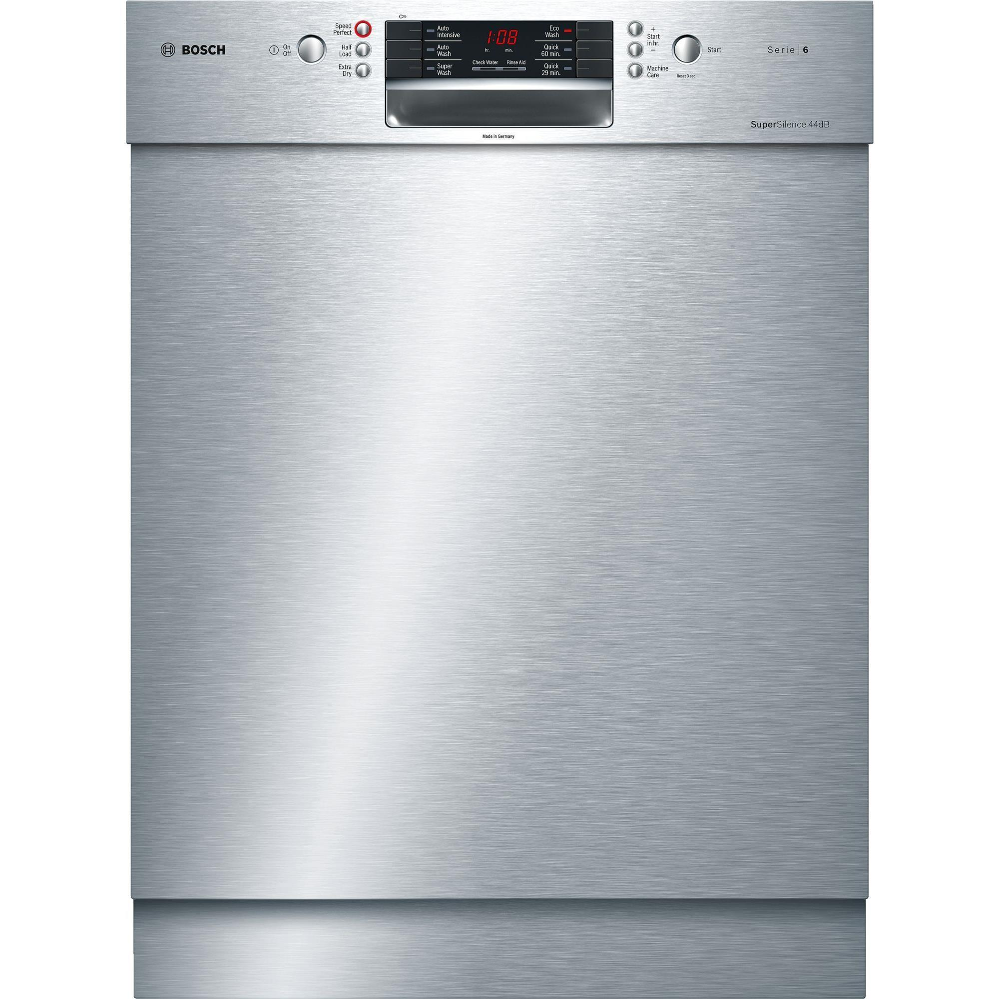 Bosch SMU66JS01A Built-in Dishwasher (Stainless Steel)