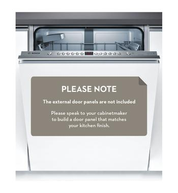 Bosch SMV66JX01A Serie 6 Fully-Integrated Dishwasher