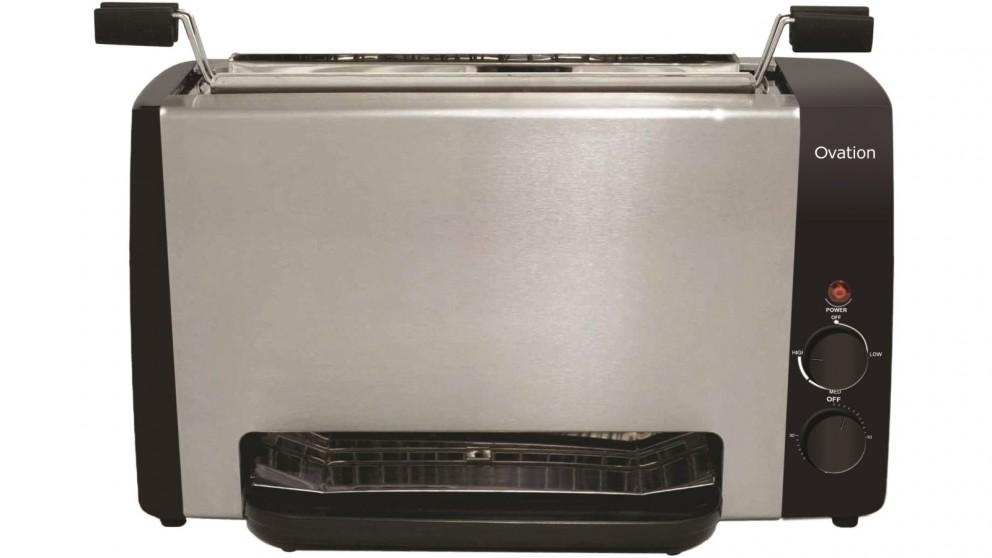 Ovation Vertical Grill – Stainless Steel