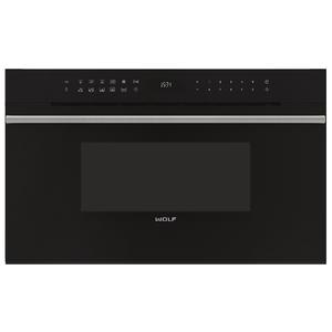 WOLF 45L M Series Contemporary Built-In Microwave Oven 900W ICBMDD30CMBTH