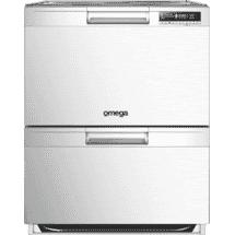 Omega 60cm Double Drawer Dishwasher