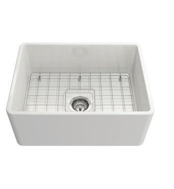 Turner Hastings NO60FS Novi 60 Ribbed Single Bowl Butler Sink