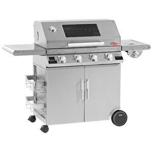 BeefEater Discovery 1100S 4 Burner Mobile BBQ with Window Hood BD47940