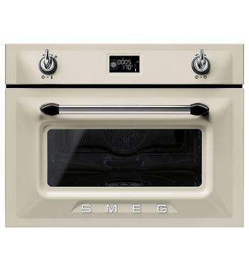 Smeg SFA4920VCP 45cm Victoria Aesthetic Compact Electric Built-In Combi-Steam Oven