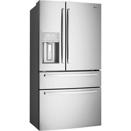 Westinghouse WHE7074SA 702L French Door Fridge (S/Steel)