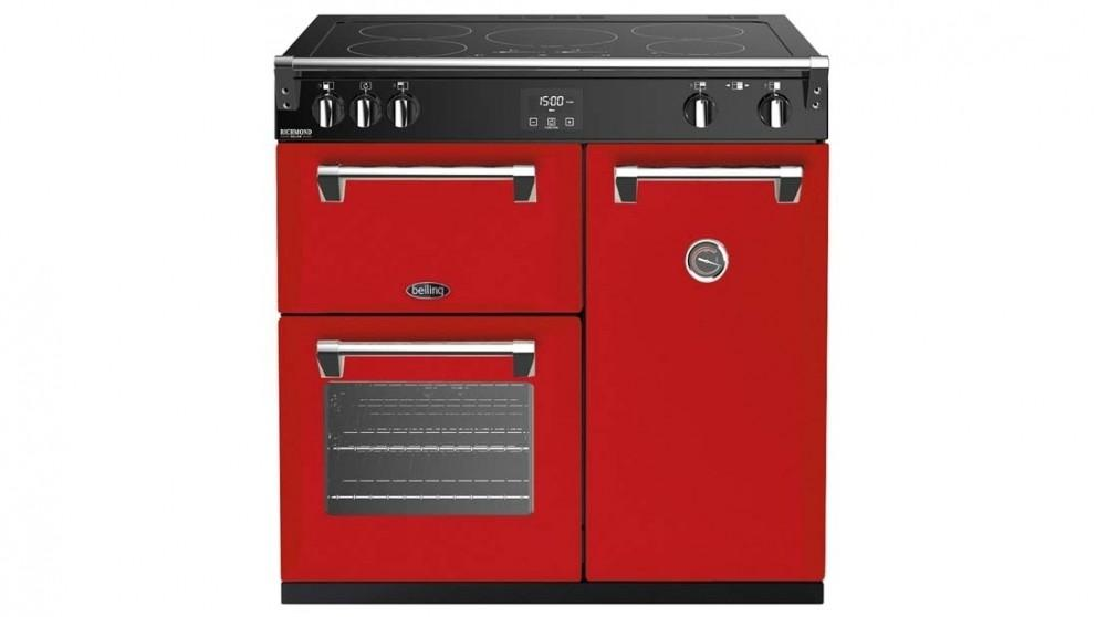 Belling 900mm Richmond Deluxe Induction Range Cooker – Red