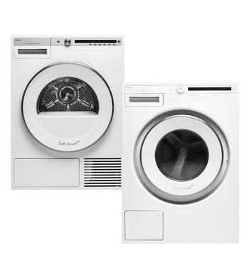 Asko8kg/8kg Laundry Package W4086C.WT408HD.W