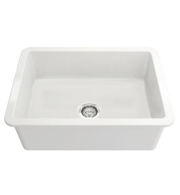 Turner Hasting CU68FS Cuisine 68 Single Bowl Inset and Undermount Sink