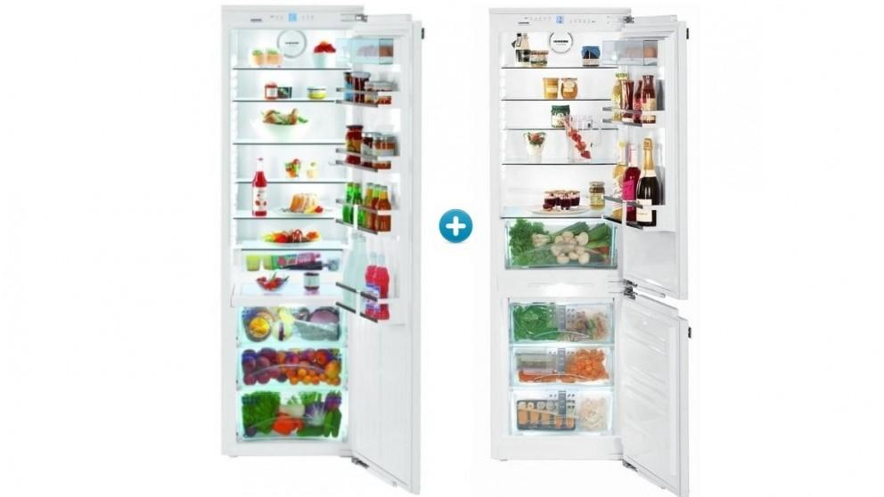 Liebherr Right Hinge 344L Integrated Fridge with 248L Integrated Freezer