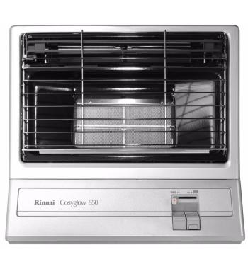 Rinnai Cosyglow Unflued Natural Gas Radiant Heater 650SN