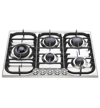 ILVE HCB70SDSS 70cm H-Series Natural Gas Cooktop