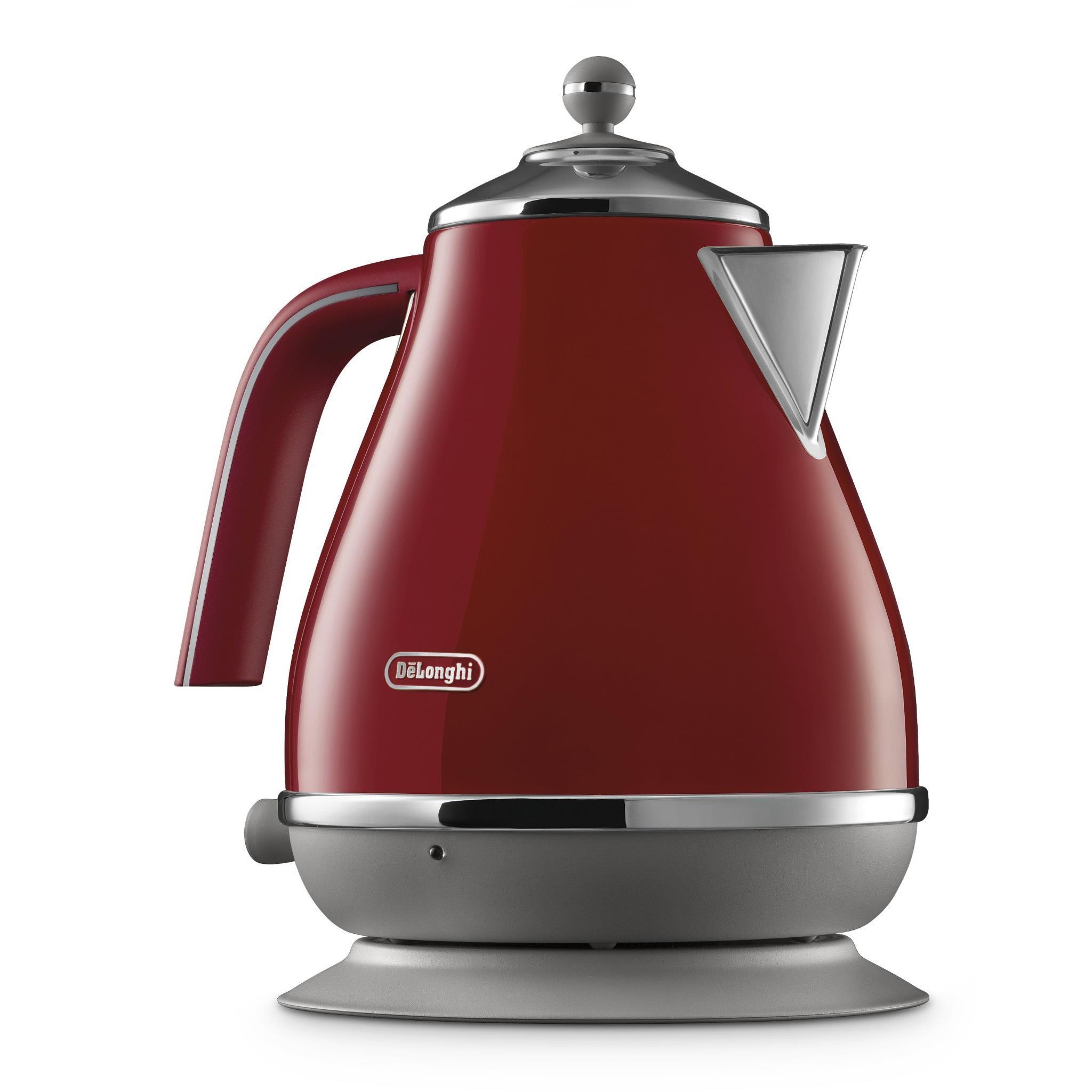 DeLonghi Icon Capitals Kettle (Tokyo Red)