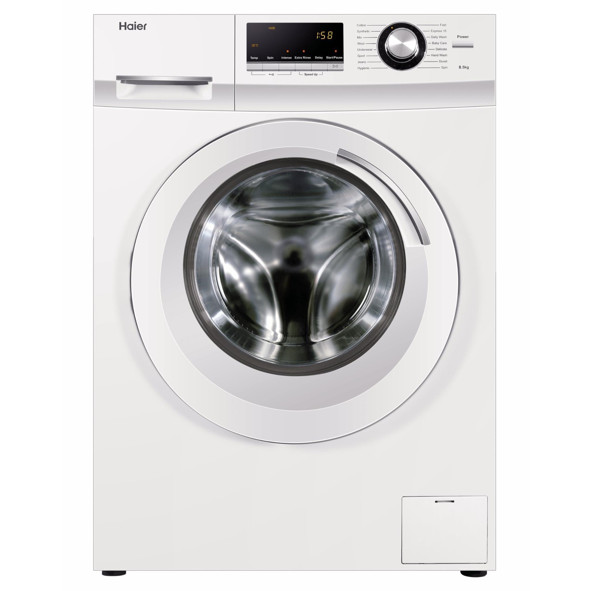 Haier HWF85BW1 8.5kg Front load Washing Machine