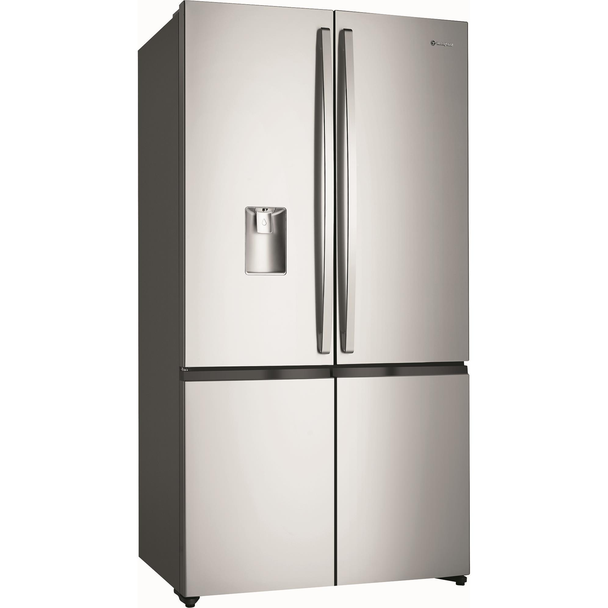 Westinghouse WQE6060 SA 600L French Door Fridge (S/Steel)