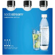Sodastream 1 Litre Fuse Triple Pack – Black