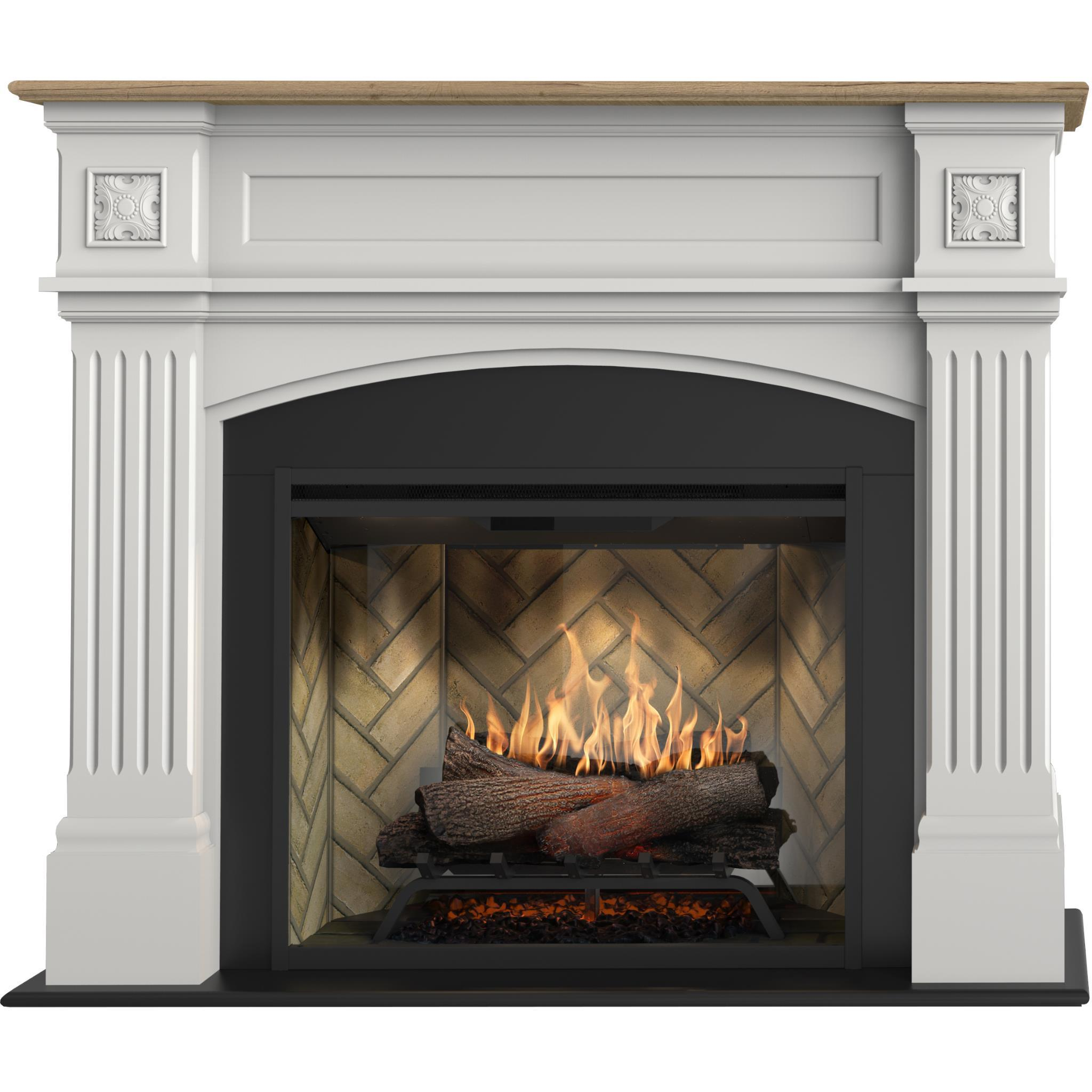 Dimplex Windelsham 2kW Revillusion Suite Electric Fireplace with Mantel