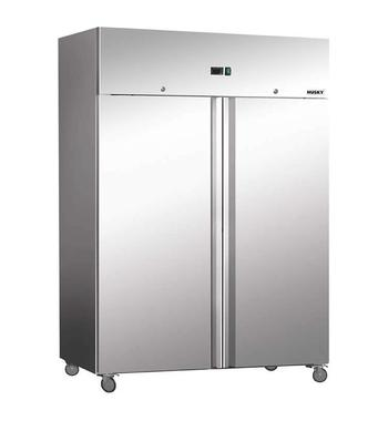 Husky CGN1400-AL 1172L Double Door Upright Fridge