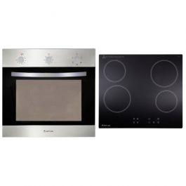 Artusi Ceramic Hob & Electric Oven Cooking Pack – stainless steel
