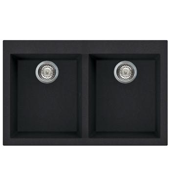 Artusi AGS792B Granitek Series Double Bowl Sink