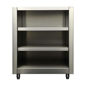 Kalamazoo Outdoor Gourmet 27″ Signature Open Shelf Cabinet K-OSHC-27-S4
