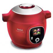 Tefal – CY8515 – Cook4Me+ Smart Multicooker and Pressure Cooker – Red