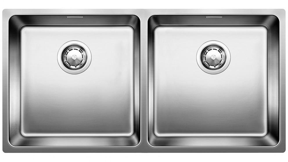 Blanco Double Bowl Undermount Sink with Overflow
