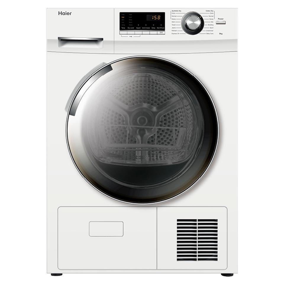 Haier HDHP80E1 8kg Heat Pump Condenser Dryer