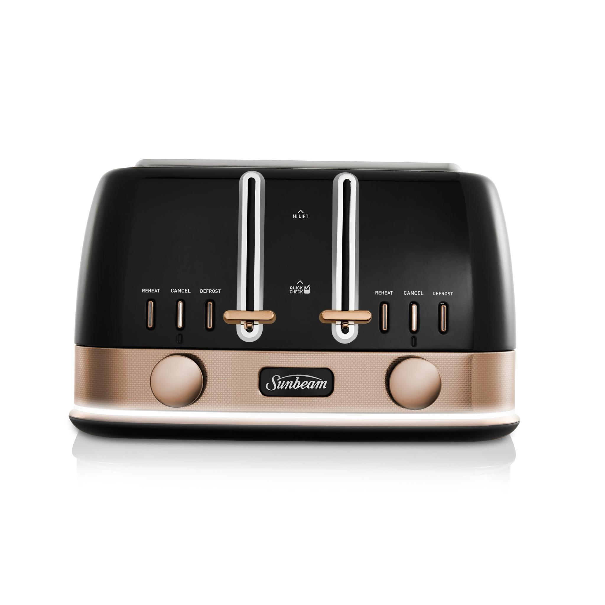 Sunbeam New York 4 Slice Toaster (Black Bronze)